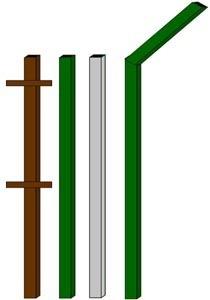 изготовление металлические столбы в Волжском