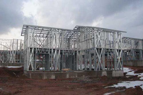 Здания на основе облегчённого металлического каркаса в Волжском